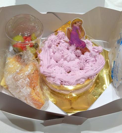 ラプンツェルケーキ